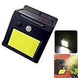 Настенный уличный светильник Solar motion sensor Light Технологии будущего - это солнечная энергия!, фото 7
