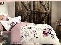 Комплект постельного белья Maison D'or Alita Dark Lilac сатин 220-200 см лиловый