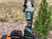 Аккумуляторная угловая шлифмашина Al-Fa ALCAG125M 21V 4Ah, фото 1