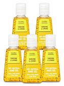 Санитайзер bbw антибактериальный гель для рук bath & body works лимон