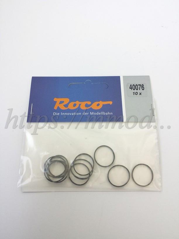 Roco 40076 тяговые шины ( резинки) для моделей локомотивов с диаметром колес 15.4–17.5 mm, масштаба 1:87 H0