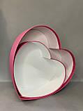 Сердце БОЛЬШОЕ без кр.(малина перламутр), фото 2