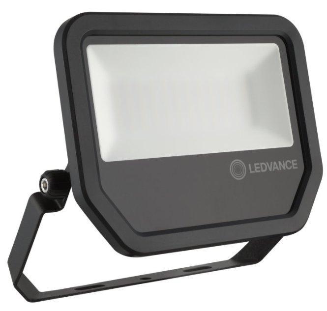 Светодиодный прожектор Floodlight LED 20W 2200Lm 3000K IP65 Black OSRAM, LEDVANCE