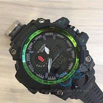 Годинники наручні чорні Casio G-Shock GWG-1000 Black-Green / касіо джишок чорні з зеленим, фото 2