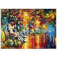 Картина по номерам Романтическое свидание» 40*50 см, в коробке Dreamtoys код: DT-1375