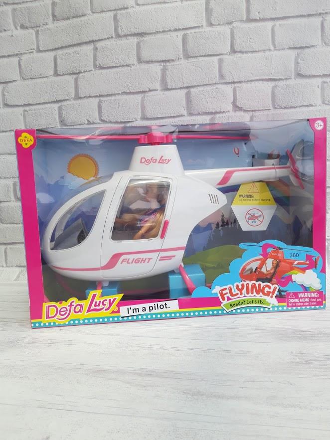 Кукла Defa с вертолетом
