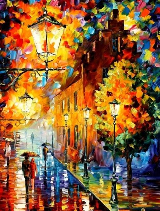 Картина по номерам Осенний этюд в кор. 40*50см, Dreamtoys код: DT-1653