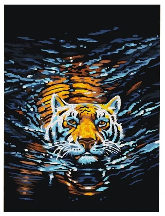 Картина по номерам Плывущий хищник 40*50см, в коробке Dreamtoys код: DT-308