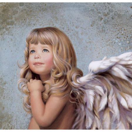Картина по номерам Белокурый ангел 40*50см, в коробке Dreamtoys код: DT-338