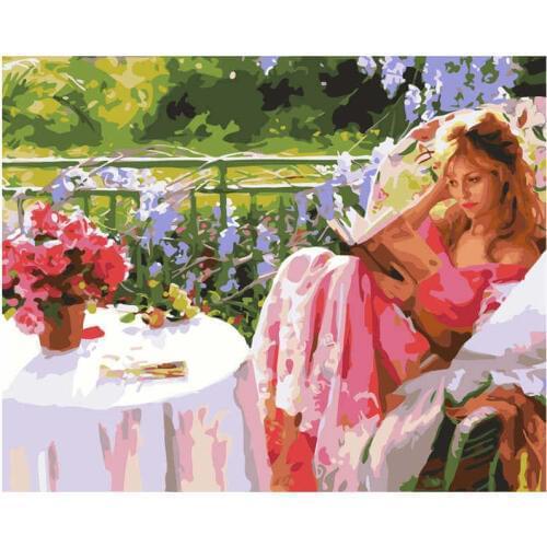 Картина по номерам Женский роман» 40*50см, в коробке Dreamtoys код: DT-443