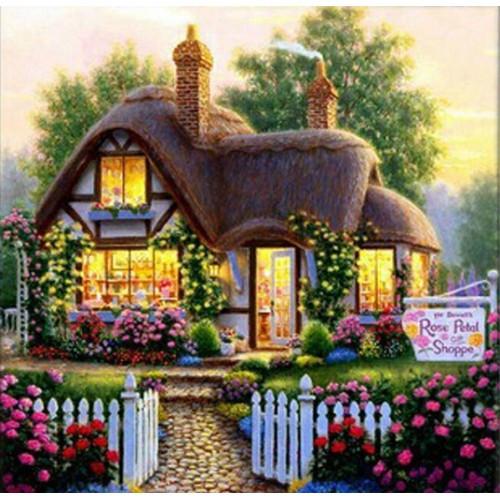 Картина по номерам Магазин ароматов» 40*50см, в коробке Dreamtoys код: DT-530