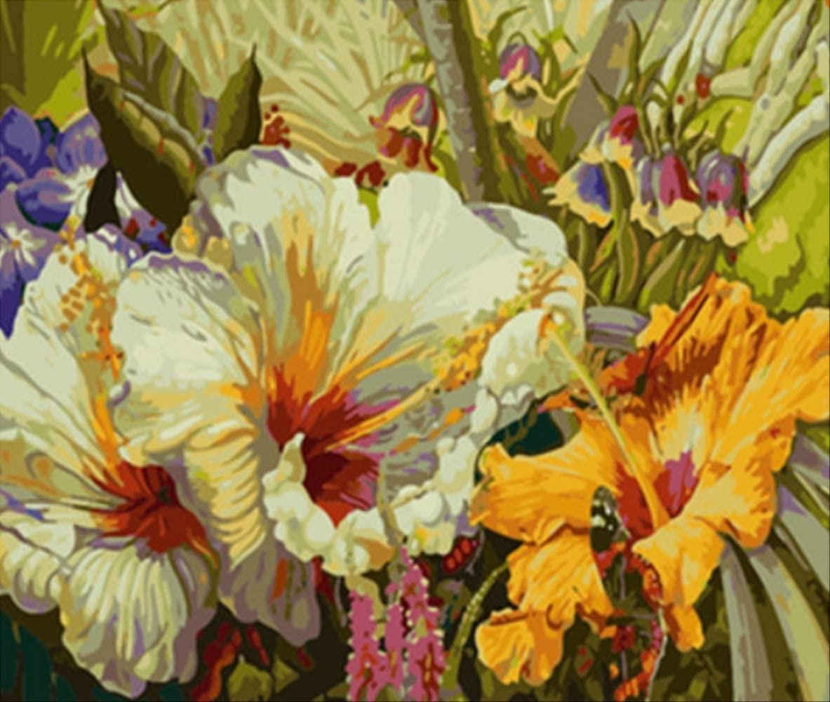 Картина по номерам Садовое царство» 40*50см, в коробке ТМ Dreamtoys код: DT-563
