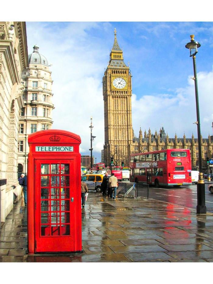 Картина по номерам Лондон» 40*50см, в коробке Dreamtoys код: DT-757