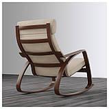 IKEA POANG (291.502.11) Качающийся стул, коричневый,, фото 3