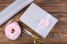 Упаковочная бумага серая-пудра