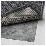 IKEA MORUM (402.035.57) Ковер, внутри/снаружи темно-серый, фото 3