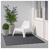 IKEA MORUM (402.035.57) Ковер, внутри/снаружи темно-серый, фото 7