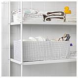IKEA STUK (203.095.88) Коробка с перегородками, белый/серый, фото 3