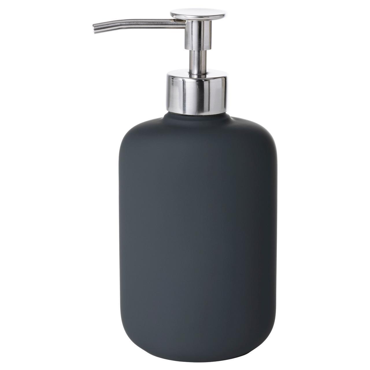 IKEA EKOLN (602.915.10) Диспенсер для мыла, темно-серый