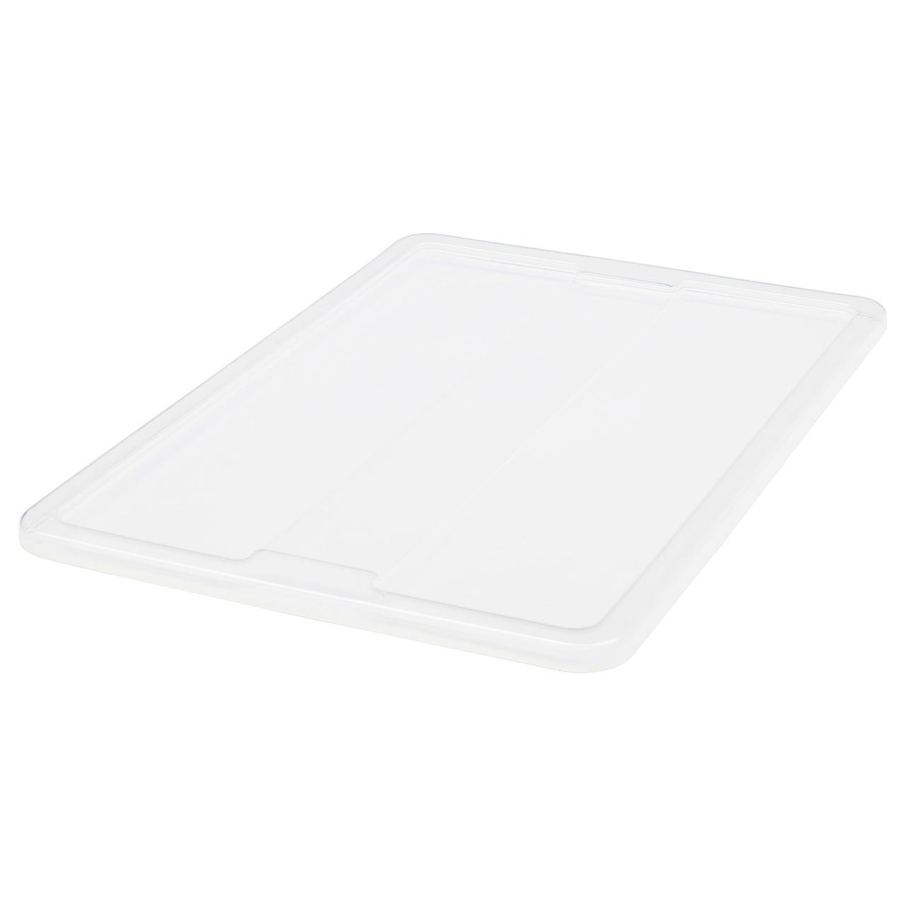 IKEA SAMLA (901.103.01) Крышка коробки 55/130 л, прозрачная