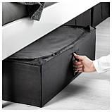 IKEA SKUBB (302.949.87) Контейнер для одежды/постельных принадлежностей, черный, фото 3