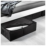 IKEA SKUBB (302.949.87) Контейнер для одежды/постельных принадлежностей, черный, фото 4