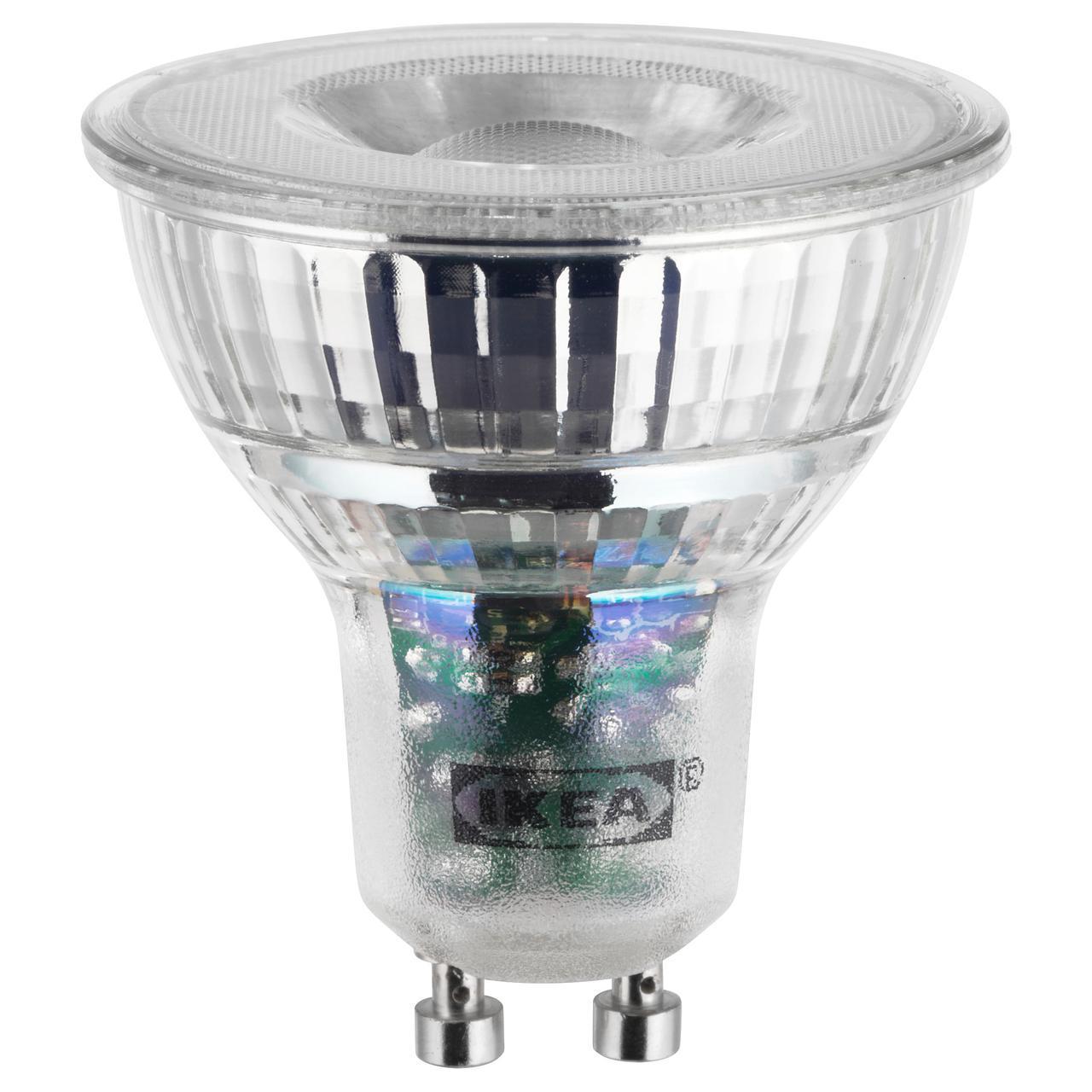 IKEA LEDARE (803.632.28) Светодиодная лампа GU10 400 люмен