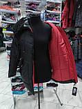 """Довга зимова куртка """"Ліка"""" з екохутром, фото 7"""