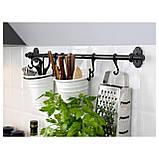 IKEA FINTORP (502.019.06) Рейлинг, черный, фото 2