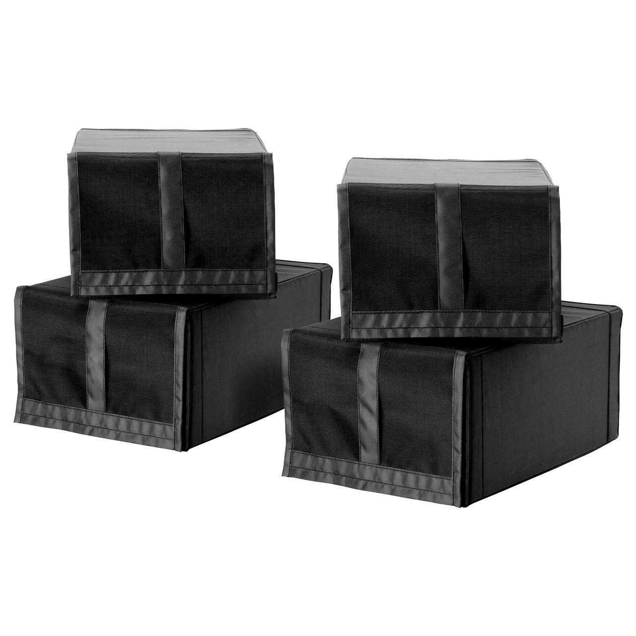 IKEA SKUBB (301.933.75) Коробка для обуви, черный