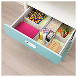 IKEA STUVA / FRITIDS (192.526.96) Шкаф с ящиками, белый, красный, фото 3