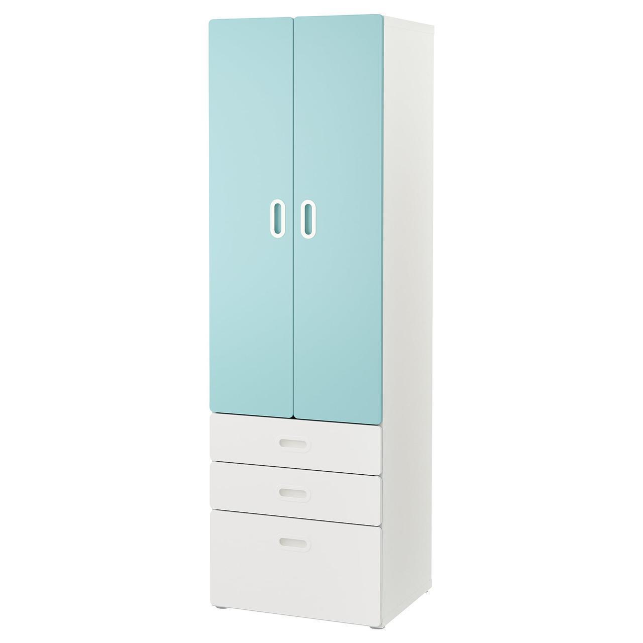 IKEA STUVA / FRITIDS (592.529.96) Шкаф/гардероб, белый, красный