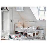 IKEA SUNDVIK (102.696.96) Шкаф/гардероб, белый, фото 4