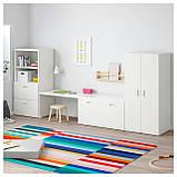 IKEA STUVA / FRITIDS (292.531.34) Шкаф, белый, красный, фото 2