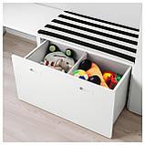 IKEA STUVA / FRITIDS (292.531.34) Шкаф, белый, красный, фото 5