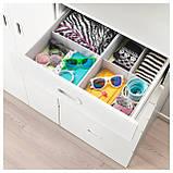IKEA STUVA / FRITIDS (192.750.75) Шкаф/гардероб, белый, красный, фото 4