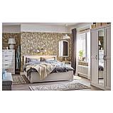 IKEA SONGESAND (392.412.11) Кровать/2 контейнера, коричневый, Lonset, фото 3