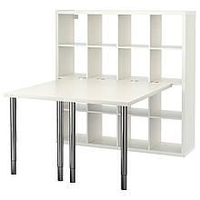 IKEA KALLAX (390.465.54) Письмовий стіл, blackbass