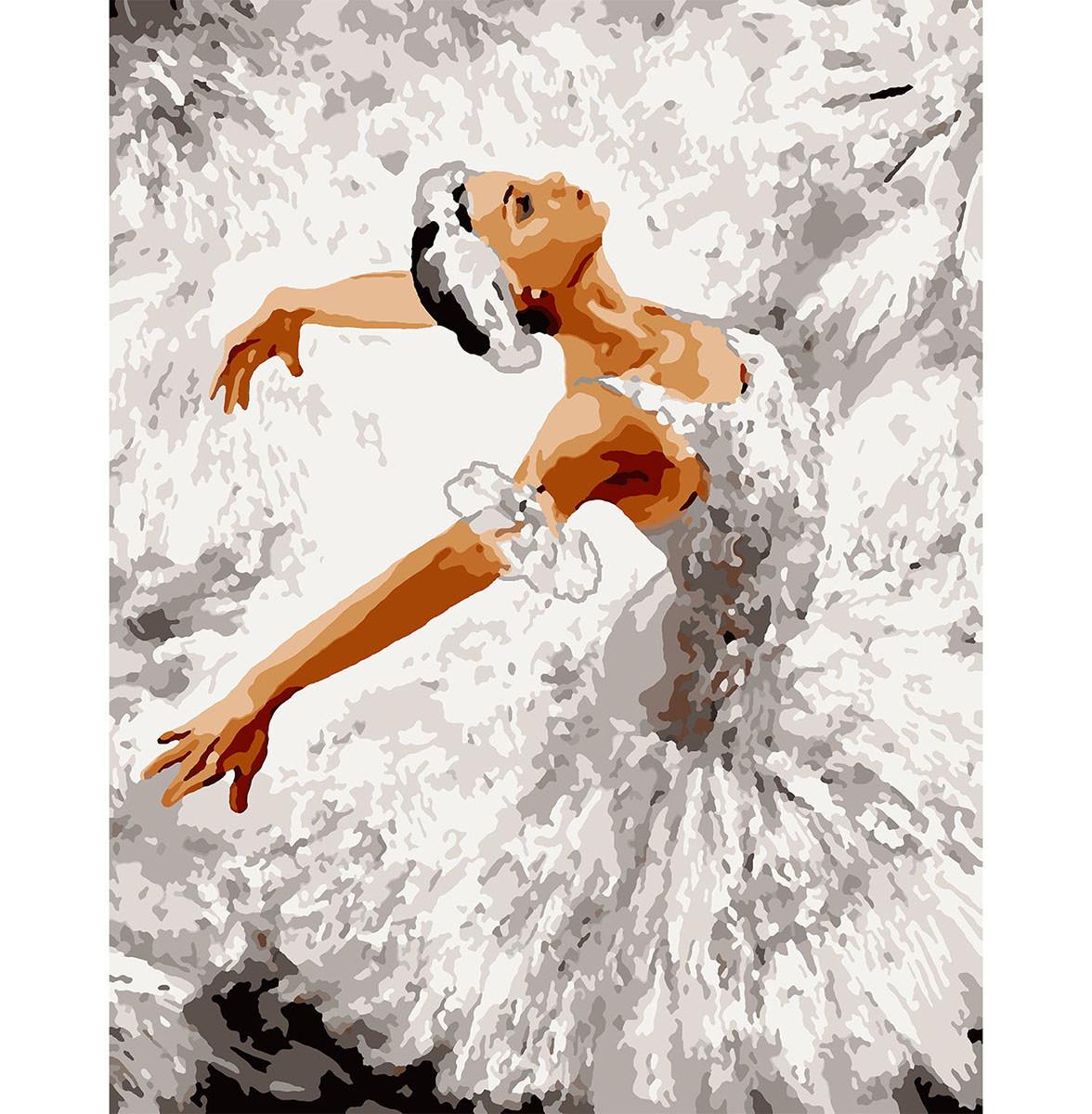 Картина по номерам в подарочной коробке Грация танца 40*50 см. Santi код:953906