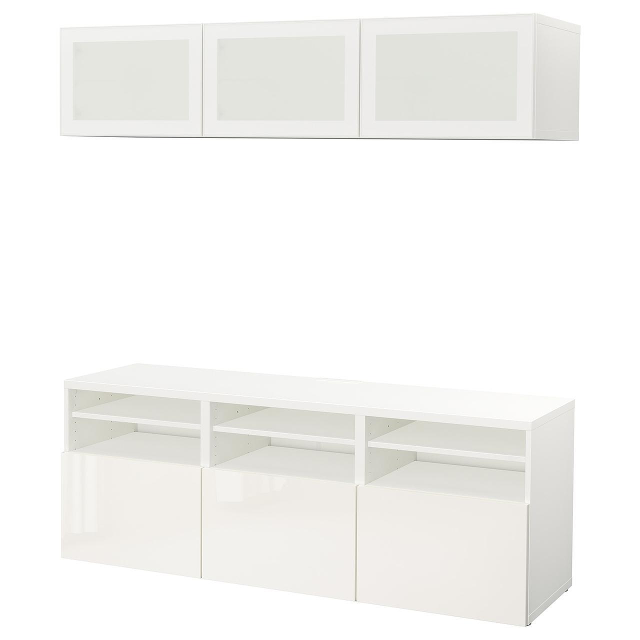 IKEA Комбинация для ТВ BESTÅ (991.945.89)