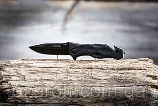 Туристический складной нож 21 см. Карманный выкидной нож