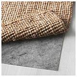 IKEA LOHALS (002.773.95) Коврик тканый плоский, натуральный, фото 3