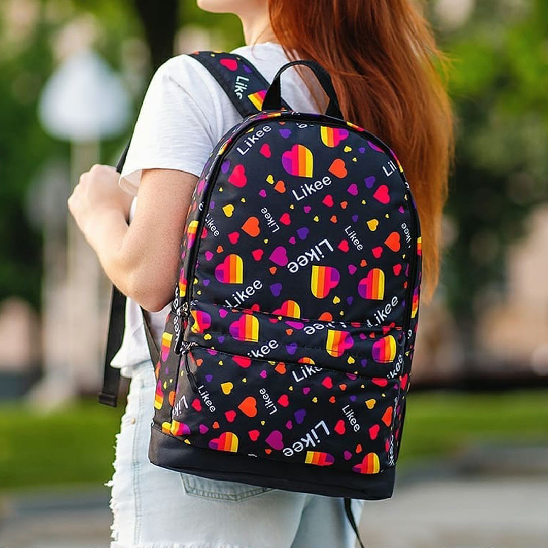 Рюкзак с принтом LIkee