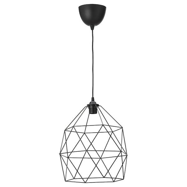 BRUNSTA БРУНСТА / HEMMA ХЕММА Світильник підвісний - чорний - IKEA