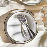 GLADELIG ГЛАДЕЛІГ Тарілка - сірий - IKEA, фото 8