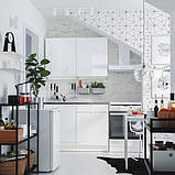 KNOXHULT КНОКСХУЛЬТ Кухня - глянцевий білий - IKEA, фото 7