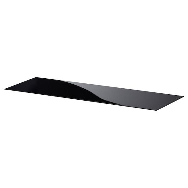 BESTÅ БЕСТО Верхня панель - скло чорний - IKEA