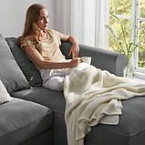 GRÖNLID ГРЕНЛІД 3-місний диван - з кушеткою/ЛЬЙУНГЕН класичний сірий - IKEA, фото 9