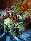 JÄTTELIK ЄТТЕЛІК Іграшка м'яка - динозавр/стегозавр - IKEA, фото 4
