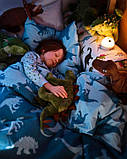 JÄTTELIK ЄТТЕЛІК Іграшка м'яка - динозавр/стегозавр - IKEA, фото 5